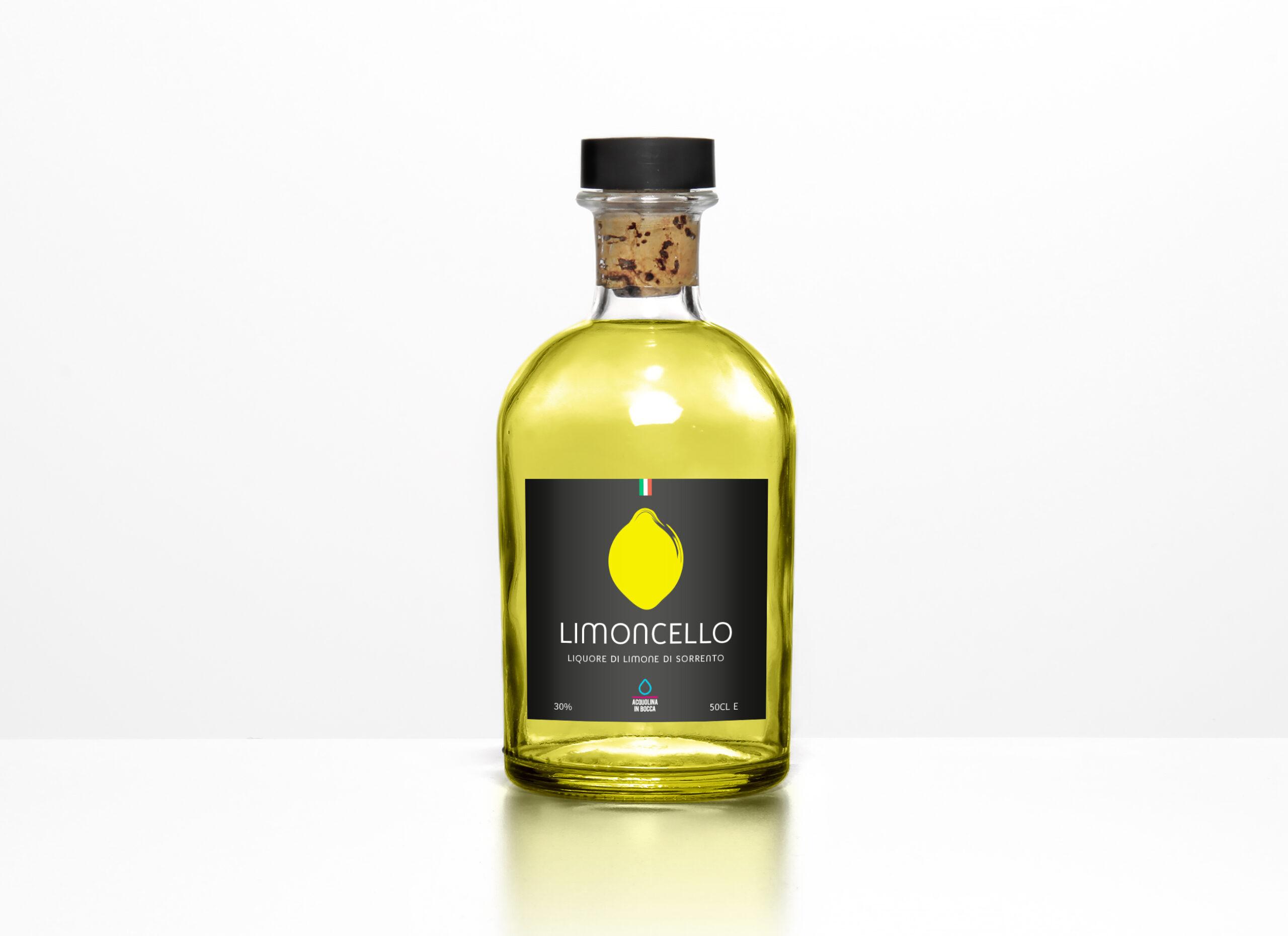 Limoncello-Label Grafisch Ontwerpbureau bolodesign logo huisstijl visitekaartje