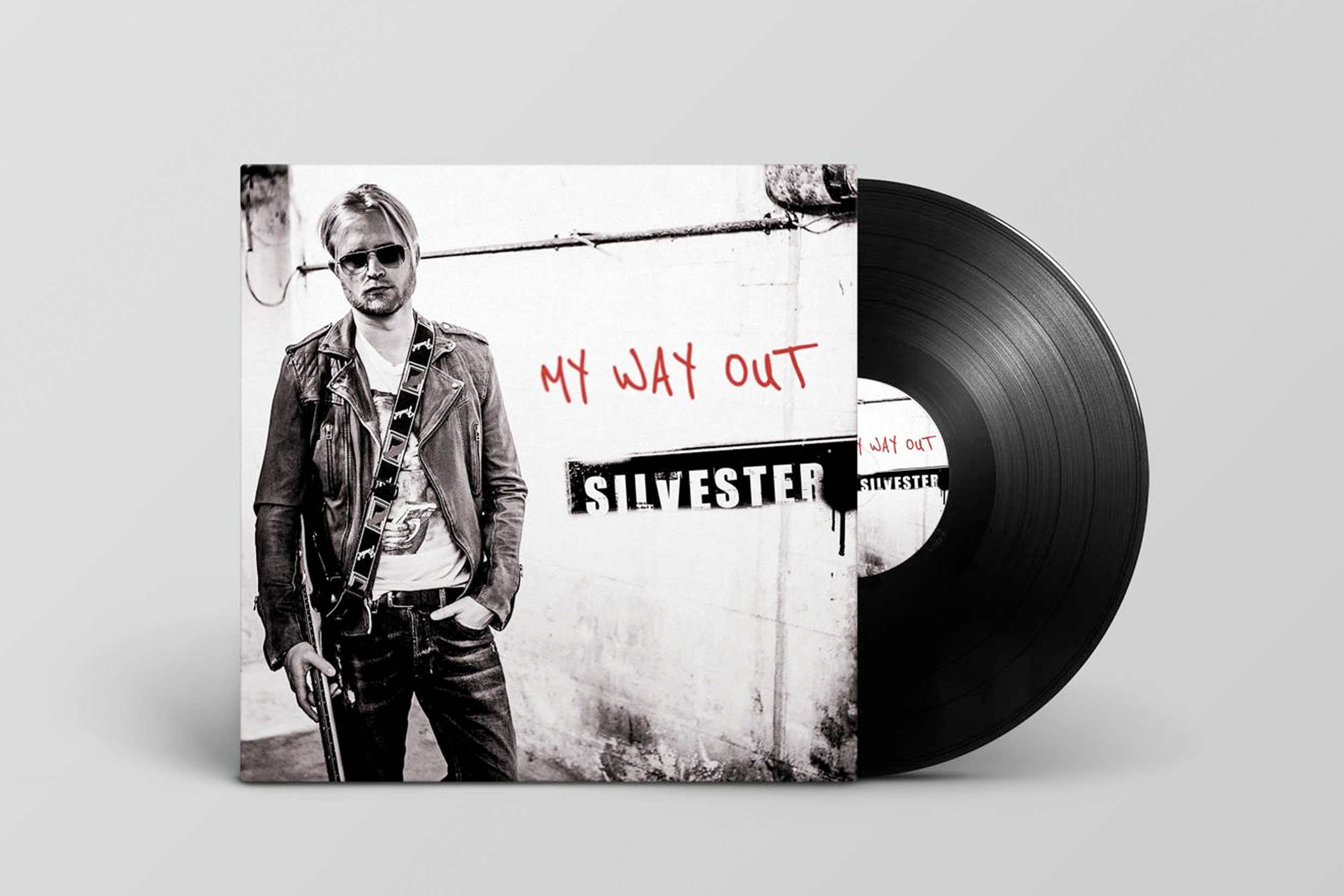 Cover design for rock pop album (MY WAY OUT) bolodesign Grafisch Ontwerpbureau